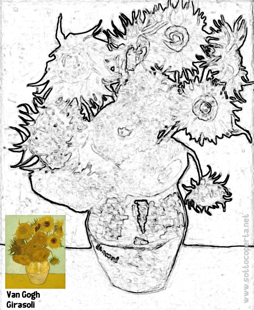 Clicca e stampa il quadro da colorare