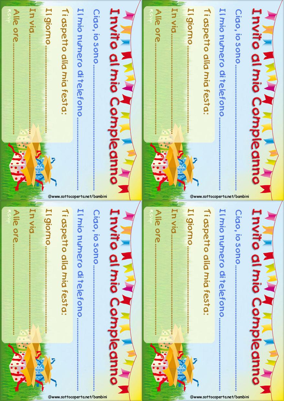 Stampa L Invito Alla Festa Di Compleanno Tema Estate Sottocoperta Net
