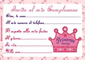 Stampa l'invito alla festa di compleanno
