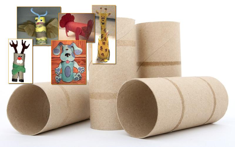 Animali Con Tubi Di Carta Igienica : Idee creative con rotoli di carta igienica come riciclare i tubi
