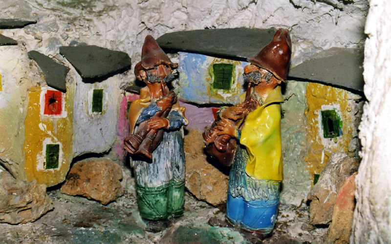 Presepio di ceramica di Arenzano (GE) - Sottocoperta.Net