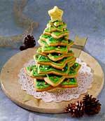 Albero Di Natale Fatto Con I Biscotti.Albero Di Biscotti Di Natale Sottocoperta Net