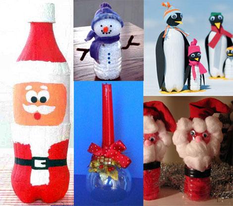 Lavoretti Di Natale Per Bambini Con Bottiglie Di Plastica.Lavoretti Di Natale Bottiglie Di Plastica Riciclate