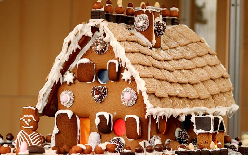 Casetta Di Natale Di Cioccolato : Casetta di biscotti e cioccolato sottocoperta.net
