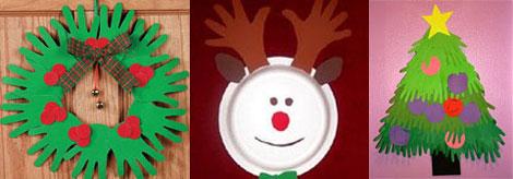 Lavoretti Di Natale In Cartoncino.Sagome Di Natale Con Cartoncino O Feltro Sottocoperta Net