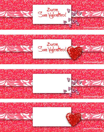 Porta tovaglioli di San Valentino
