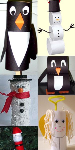 Lavoretti Di Natale Con Rotolo Di Carta Igienica.Lavoretti Di Natale Con I Rotoli Di Cartone Sottocoperta Net