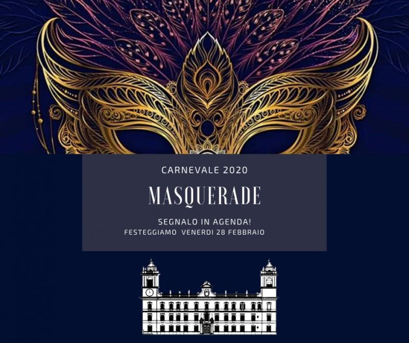MASQUERADE - Festa in maschera a Palazzo