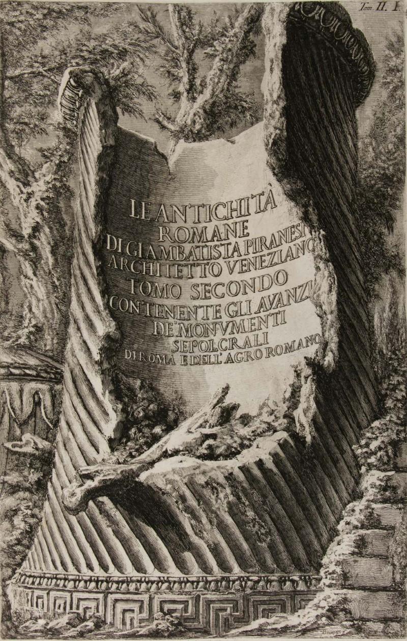 Piranesi ai Musei Civici di Bassano