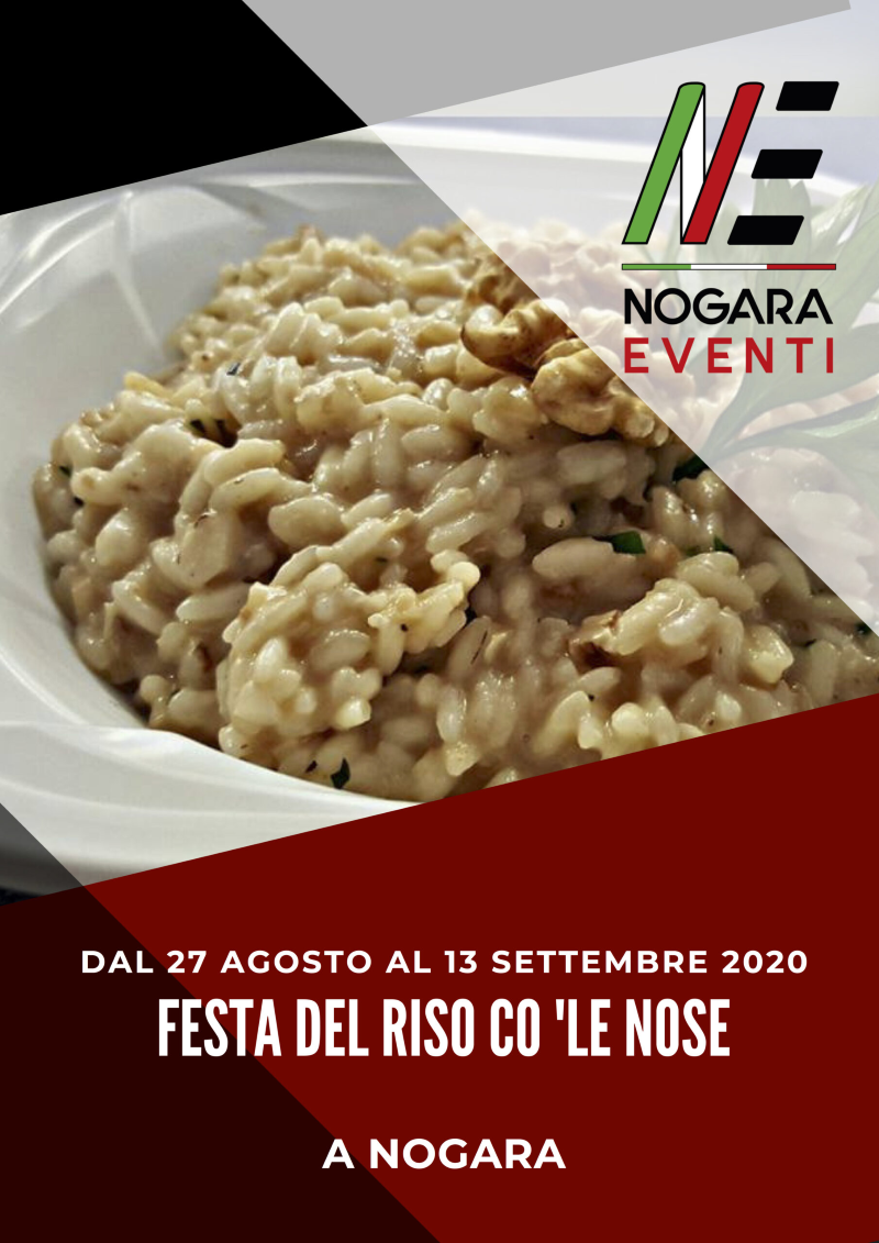 Festa del Riso con le Noci di Nogara (VR)