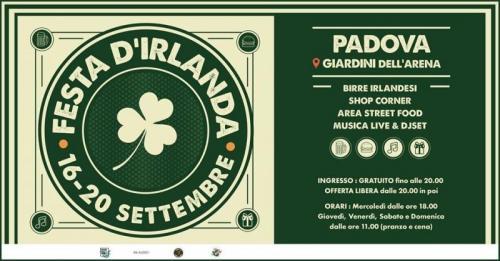 Festa d'Irlanda a Padova