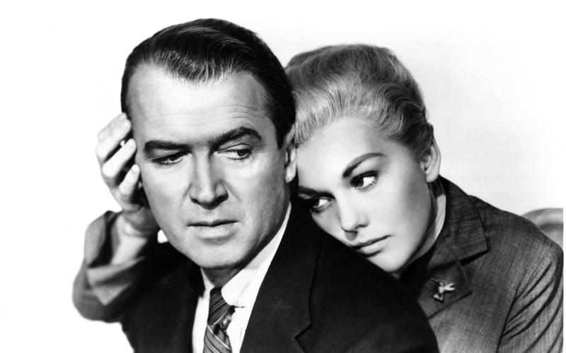 Alfred Hitchcock, La donna che visse due volte, 1958 © Universal Pictures
