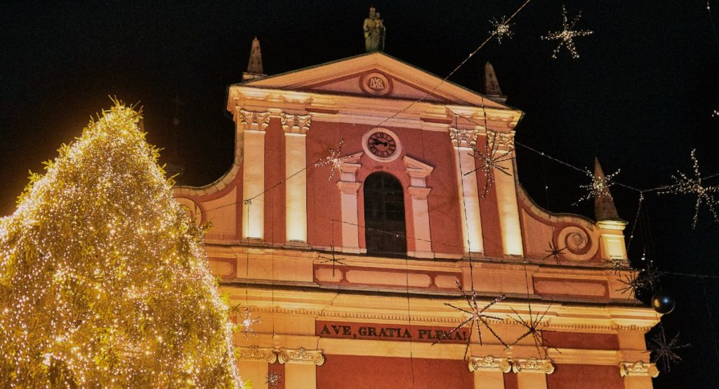 La magia del Natale in Slovenia